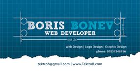Boris Bonev business card