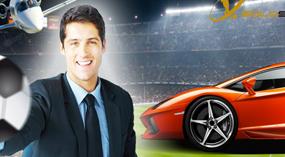 Sport Agency Flash site
